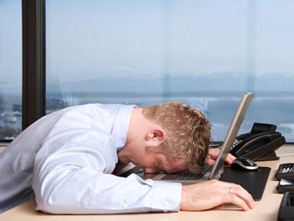 Заснул на работе перед компьютером