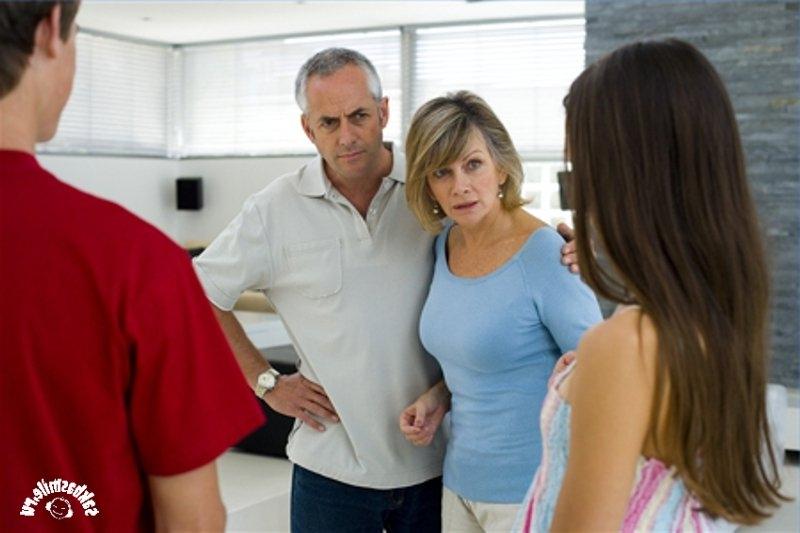 знакомство родителей девушки с ее парнем