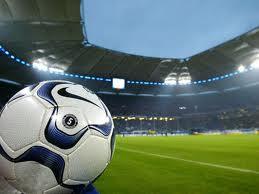 Футбол - стадион, поле и мяч