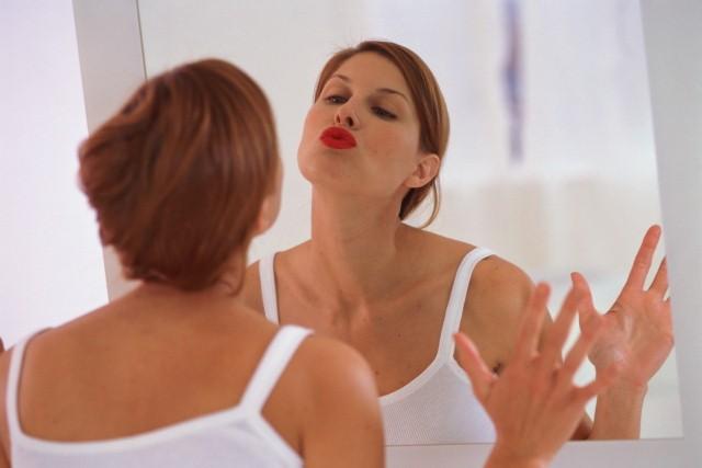 Поцелуй в зеркало