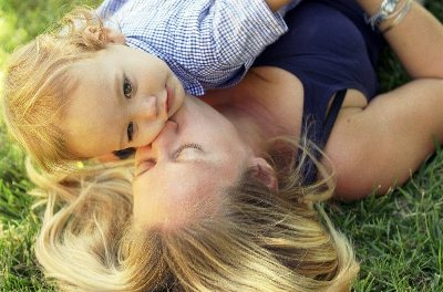 Хорошая мама и ребенок