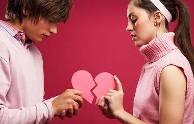Парень, девушка и разбитое сердце