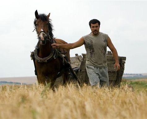 Фермер с лошадью
