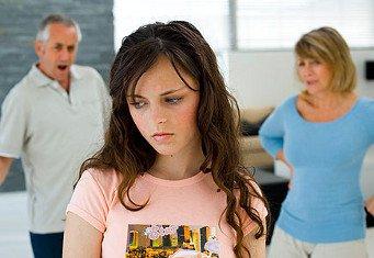 Разговор родителей с дочерью